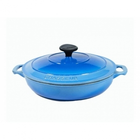Serving Casserole 24cm - Riviera Blue
