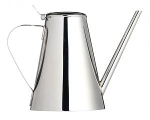 Italian Collection Contemporary Stainless Steel Oil Can Drizzler - 500ml