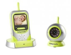 Video Baby monitor with wide screen