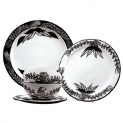 Ardmore Ceramics Ebony set of 4 - Lion