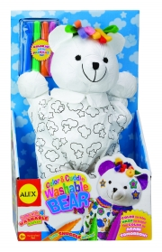 Alex Toys COLOR AND CUDDLE WASHABLE BEAR