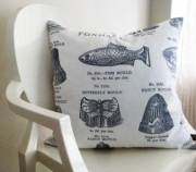 Fondant Textiles Fancy Moulds CUSHION COVER
