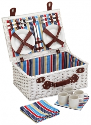 Kitchencraft Coolmovers Marina Fitted Picnic Basket