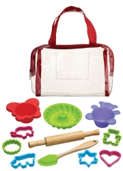 Kitchencraft Let's Make Children's 12 Piece Baking Kit