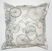 Grey Gardens cushions Blue - Bicycle