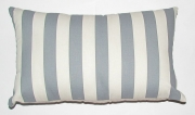 Grey Gardens cushions Blue - Blue grey strip medium