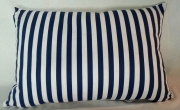 Grey Gardens cushions Nautical - blue stripe