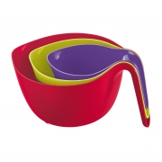Koziol MIXX Mixing Bowls - Set of 3