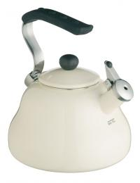 Kitchencraft Le'Xpress Whistling Kettle  - 'Seashell Cream'