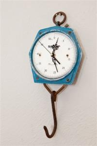 REcreate Hanging Salter Scale Clock