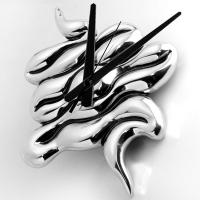 Carrol Boyes WALL CLOCK - quicksilver